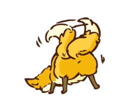 The story of Fox 1-2 (emotions) sticker #7076759