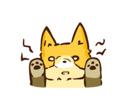 The story of Fox 1-2 (emotions) sticker #7076763