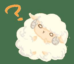 Little Fat Sheep sticker #7077880