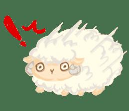 Little Fat Sheep sticker #7077881