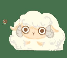 Little Fat Sheep sticker #7077882