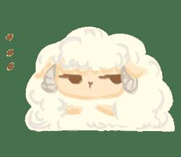 Little Fat Sheep sticker #7077883