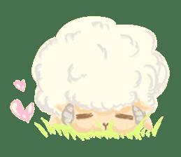 Little Fat Sheep sticker #7077884