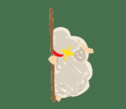 Little Fat Sheep sticker #7077886