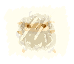 Little Fat Sheep sticker #7077888