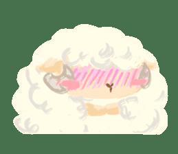 Little Fat Sheep sticker #7077890