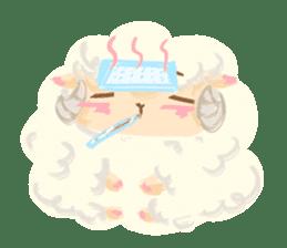 Little Fat Sheep sticker #7077891
