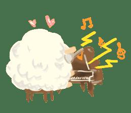 Little Fat Sheep sticker #7077892