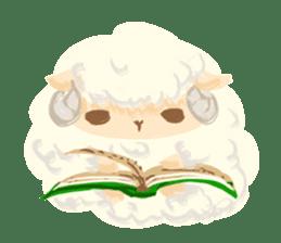 Little Fat Sheep sticker #7077893