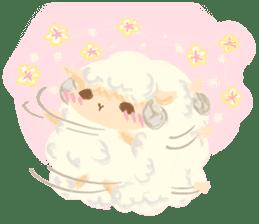 Little Fat Sheep sticker #7077894