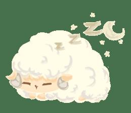 Little Fat Sheep sticker #7077895