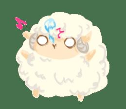 Little Fat Sheep sticker #7077897