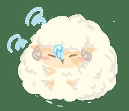 Little Fat Sheep sticker #7077898