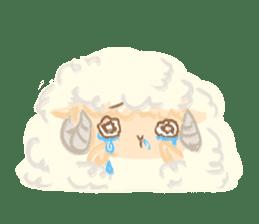 Little Fat Sheep sticker #7077900