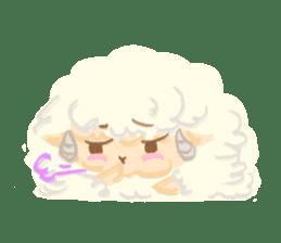 Little Fat Sheep sticker #7077901