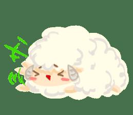 Little Fat Sheep sticker #7077902