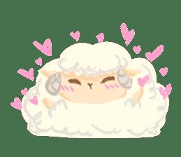 Little Fat Sheep sticker #7077903