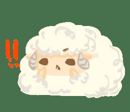 Little Fat Sheep sticker #7077904