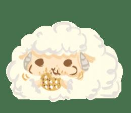 Little Fat Sheep sticker #7077906