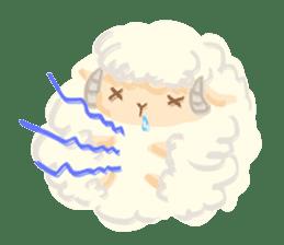 Little Fat Sheep sticker #7077907