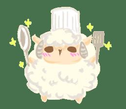 Little Fat Sheep sticker #7077908