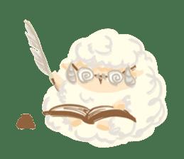 Little Fat Sheep sticker #7077909