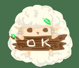 Little Fat Sheep sticker #7077910