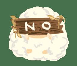 Little Fat Sheep sticker #7077911