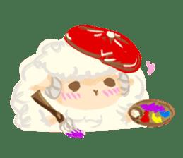 Little Fat Sheep sticker #7077913