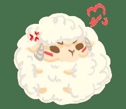 Little Fat Sheep sticker #7077914