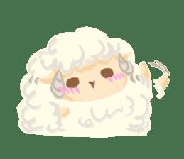 Little Fat Sheep sticker #7077915