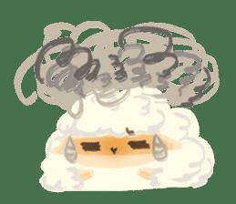 Little Fat Sheep sticker #7077916