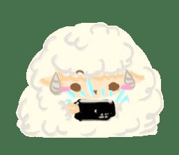 Little Fat Sheep sticker #7077917