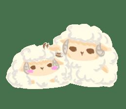 Little Fat Sheep sticker #7077919
