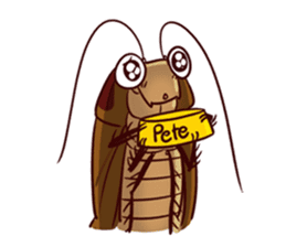 My name is Pete 2HD sticker #7078118