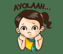 Annoying Girl Sticker 2 sticker #7078168