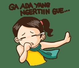 Annoying Girl Sticker 2 sticker #7078179