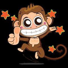 Jodd & Jaow:The little naughty monkey 2.