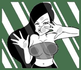 I am Miss.W III (World) sticker #7082212