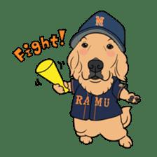 Go!Go!Golden Retriever 2 ! sticker #7082680