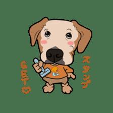 Go!Go!Golden Retriever 2 ! sticker #7082688