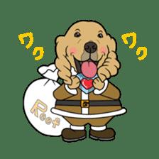 Go!Go!Golden Retriever 2 ! sticker #7082700