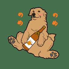 Go!Go!Golden Retriever 2 ! sticker #7082717