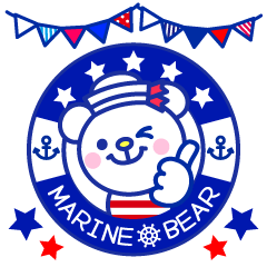Marine bear Part2 : Tricolor color