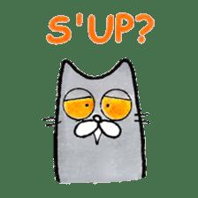 Meow Gatsby! sticker #7088017