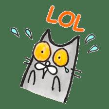 Meow Gatsby! sticker #7088028