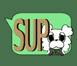 Internet slang of English(Meloo&Nero) sticker #7088251