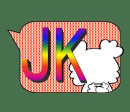 Internet slang of English(Meloo&Nero) sticker #7088259
