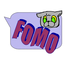 Internet slang of English(Meloo&Nero) sticker #7088272