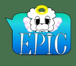 Internet slang of English(Meloo&Nero) sticker #7088277
